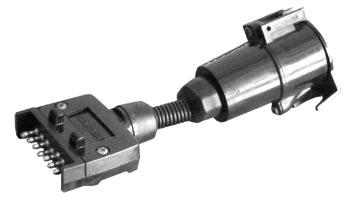 Adaptor 7 Flat to 7 Round Large
