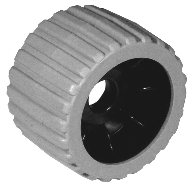 Wobble Roller Grey 3″ Plastic